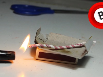 How to Make a Homemade Fuse from Matches!