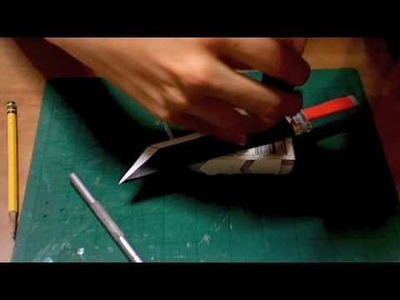 How to make a Paper Buster Sword from Final Fantasy 7 part 7.5