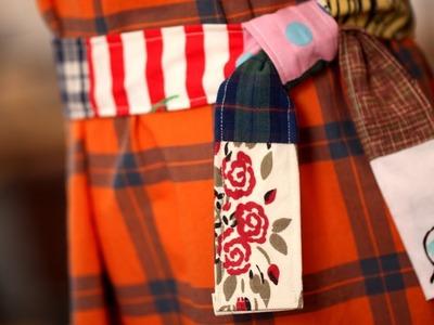 How to Make a Patchwork Belt || KIN DIY