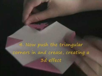 How to make a Solid origami Rhombicuboctahedron