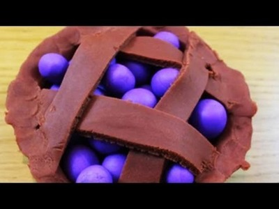 How to Make Play Doh Blueberry Pie