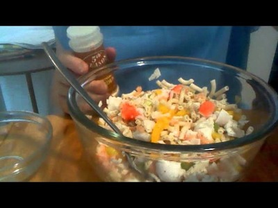 How to make Seafood Salad