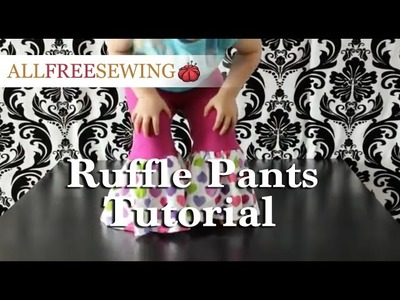 How to: Ruffle Pants Tutorial