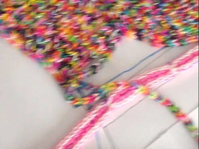 Loom Band dress - Video 12 - Day 4