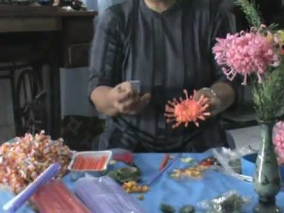 Making plastic flowers - Tools and equipments