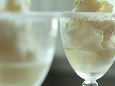 Margaritas: Lime or Lemon Sorbet Recipe || KIN EATS