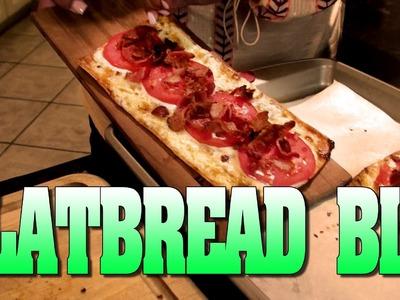 Mariah Milano's Delicious Flat Bread BLT!