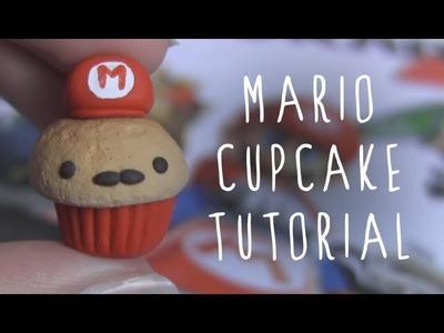Mario Cupcake Polymer Clay Tutorial