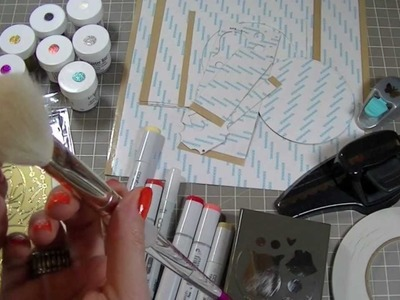 Micro Fine Glitter Tutorial- Technique 1