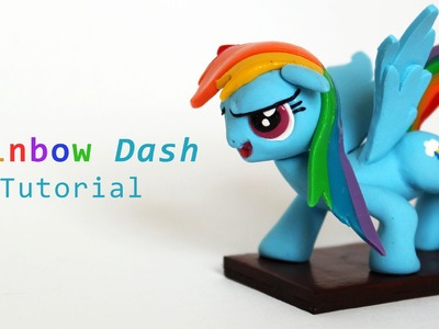 My Little Pony Rainbow Dash Polymer Clay Tutorial