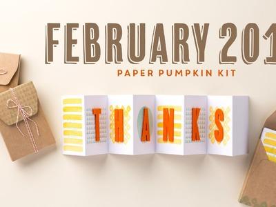 Paper Pumpkin February 2015