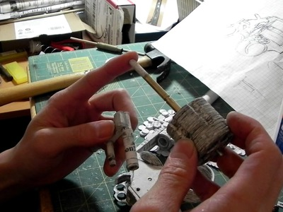 Paper Revolver Pt. 5: Cylinder, Crane, and Ejector(Update)