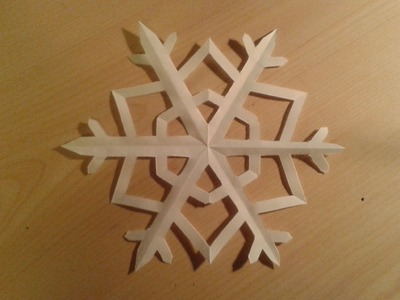 Paper Snowflake - Easy Tutorial