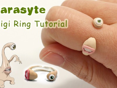 Parasyte Migi Inspired Polymer Clay Ring