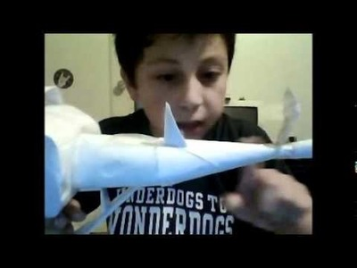 Part 3 of how to make a paper ray gun