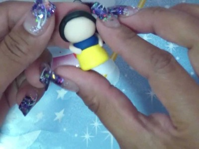 Polymer Clay: Snow White Chibi and Pen Tutorial, Part 1!!!