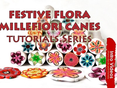 PROMO INTRO PolyPediaOnline TV - How To Create Advanced Millefiori Flower Canes Tutorials