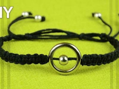 Ring Bracelet + Easy Clasp - Tutorial