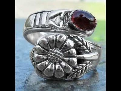 Spoon rings sterling silver handmade & exclusive!