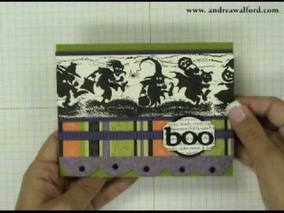 Stampin' Up! Tutorial: Halloween Card