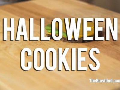 The Raw Chef TV | Raw food halloween cookie recipe