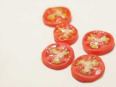 Tomato cane polymer clay tutorial
