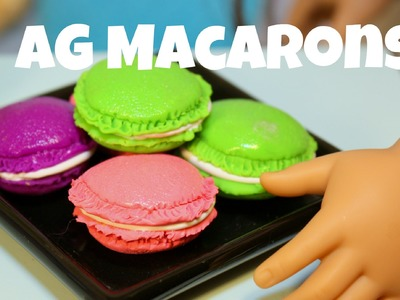 Tutorial: How to Make an AG Sized Polymer Clay French Macaron Easy Dessert Food