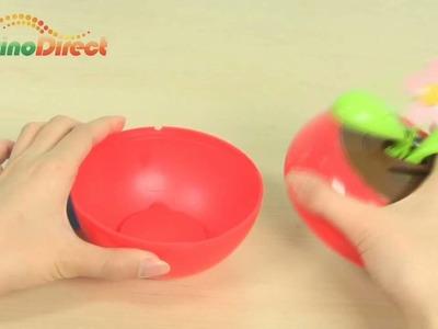 Apple Leaf Solar Powered Flip Flap Toy - dinodirect