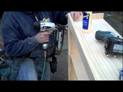 BUILDING TOY CHEST AND WOODEN SHELVES.m4v
