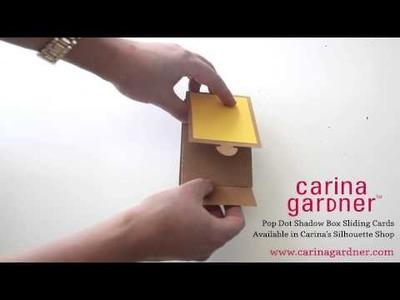 Carina Gardner Shadow Box Sliding Cards