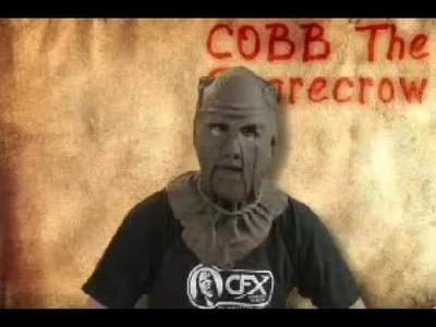 Cobb The Scarecrow Pro Silicone Mask scare crow, corn maze, hayride, farm, corn field