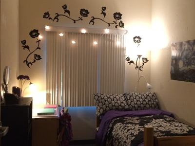 Decorating Ideas for a Dorm Room~My Daughter's Room in College