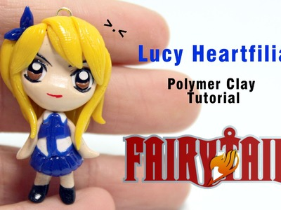 Fairy Tail Lucy Heartfilia Polymer Clay Tutorial