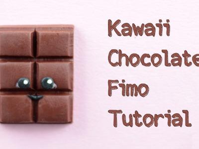[Fimo Friday] Kawaii Chocolate Fimo Tutorial. Kawaii Chocolate polymer clay tutorial | Anielas Fimo