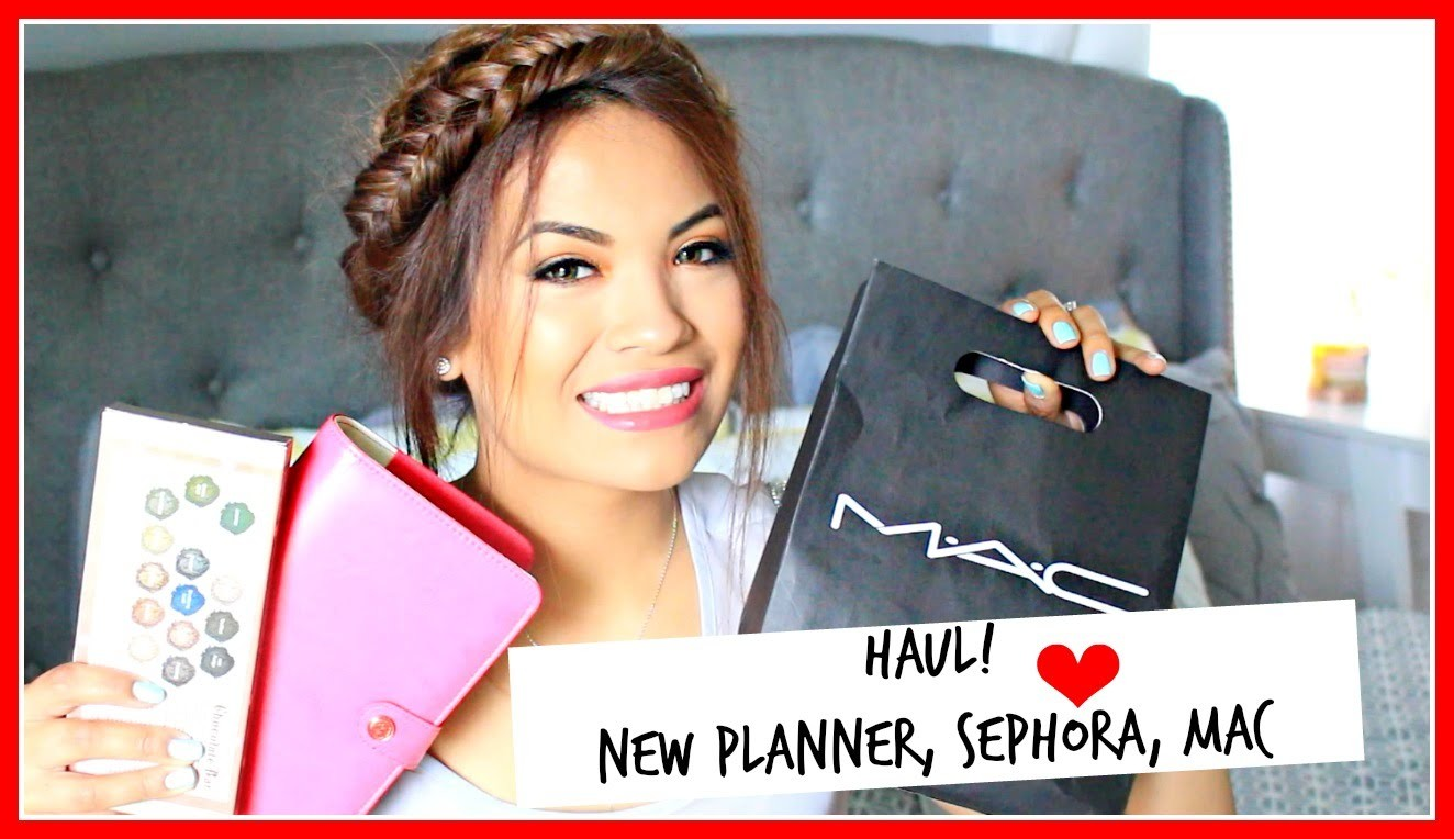 Haul!: Sephora, WebsterPages Planner, Ulta, and MAC!