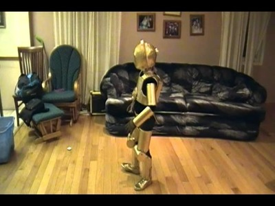 Home made Star Wars costumes C3PO