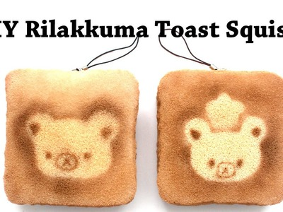 Homemade Rilakkuma Toast Squishy Tutorial (No Paints!)