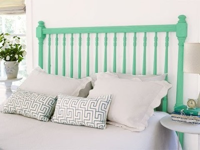 How to Build a Spindle Headboard - This Old House
