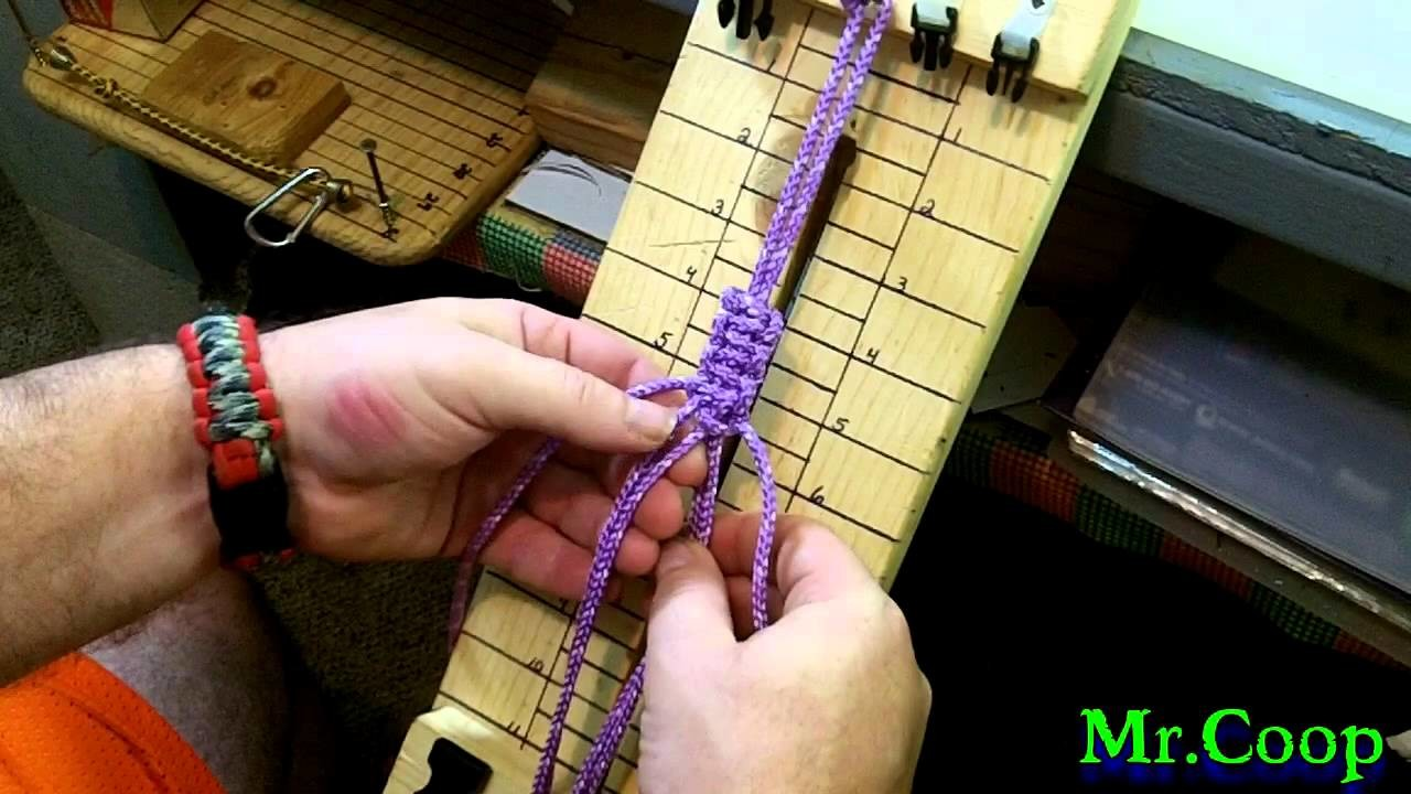 How To Make A Paracord Dog Leash Handle.