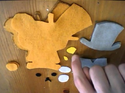 How To Make a Rilakkuma Gentlemen Plush Tutorial