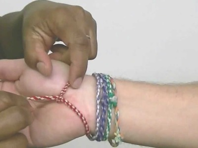 How To Make Twisted Friendship Bracelets
