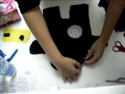 How to sew a ninja toy by hand