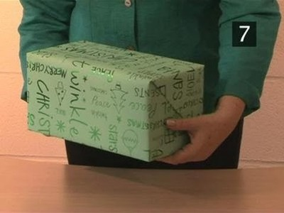 How To Wrap A Square Ended Box
