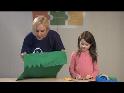 Make a Peter Pan tunic - presented by Kirsten O'Brien