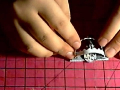 Miniature Paper Foothold Trap (Bear Trap)