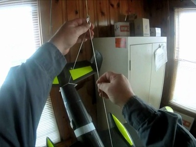 One way to hang your RC Airplanes