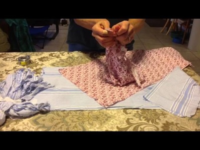 Part #1  How to make a rag doll