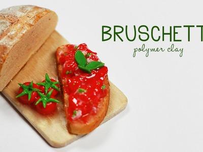 Polymer clay Bruschetta TUTORIAL (Baking Soda trick)