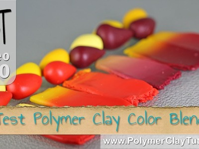 Polymer Clay Colors - Making Small Test Blends