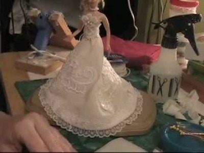 Polymer Clay Fairy Bride Doll - Part 3 of 3 - Advanced Doll Making Course